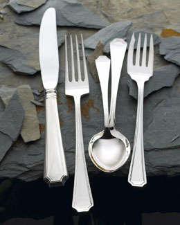 "Wallace Silversmiths 66-Piece ""Fairfax"" Sterling Silver Flatware Service"