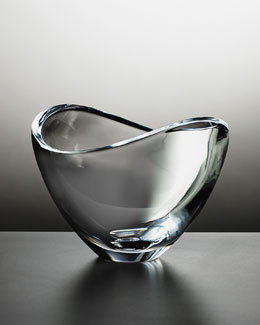 Nambe Crystal Butterfly Bowl