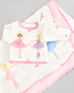 Art Walk La Ballet Blanket & Sweater