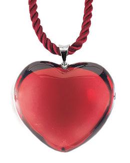 Baccarat Glamour Heart Pendant