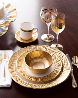 "Michael Wainwright ""Gold Coil"" Dinnerware"