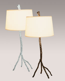 "Michael Aram ""Enchanted Forest"" Table Lamps"