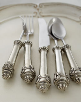 "Vagabond House Five-Piece ""Medici"" Flatware Place Setting"