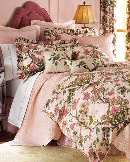 """Fino Lino Linen & Lace """"Formosa"""" Bed Linens"""