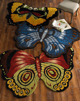 """Savannah Butterflies"" Rug"