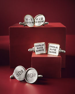 Heather Moore Personalized Cuff Links
