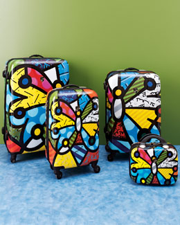 "Heys ""Britto"" Butterfly Luggage"