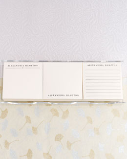 Personalized Post-it Notes Set