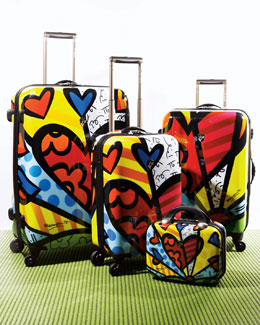 "Heys ""Britto"" Heart Luggage"