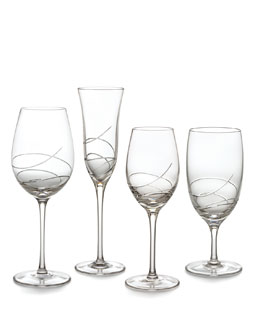 "Waterford Crystal ""Ribbon"" Glassware"