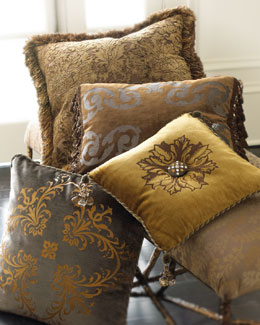 """Baroque"" Decorative Pillows"
