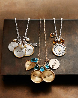 Heather Moore Personalized Charm Necklaces