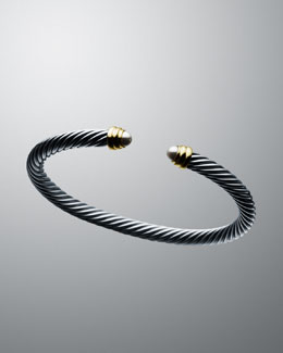 David Yurman 5mm Pearl Cable Classics Bracelet