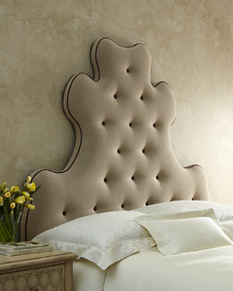 """Old Hickory Tannery Linen """"Madam"""" Headboards"""