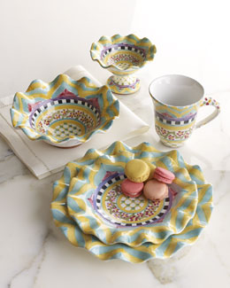 "MacKenzie-Childs ""Hitchcock Field"" Dinnerware"