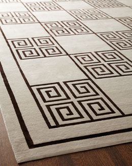 "Exquisite Rugs ""Greek Key"" Rug"