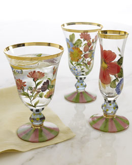 "MacKenzie-Childs ""Flower Market"" Drinkware"