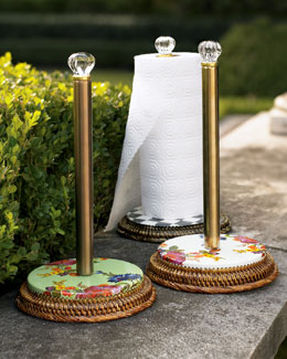 MacKenzie-Childs Paper Towel Holders