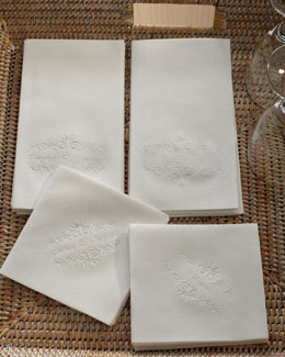 Floral Cocktail Napkins & Guest Towels