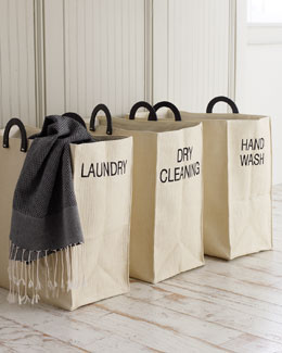 Dransfield & Ross Laundry Totes