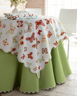 "Matouk Butterfly, ""Bamboo Lattice"" & ""Savannah"" Table Linens"
