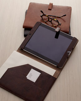 Abas Classic Leather Tech Cases