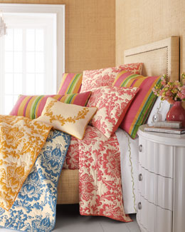 Amity Home Damask Quilted Bed Linens