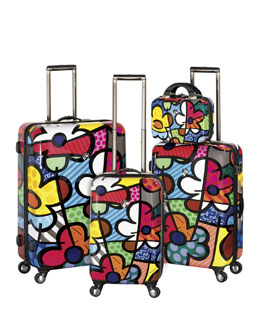 "Heys Britto ""Flower"" Luggage"