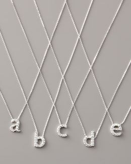 KC Designs Diamond Letter Necklace, A-E
