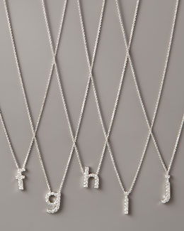 KC Designs Diamond Letter Necklace, F-J