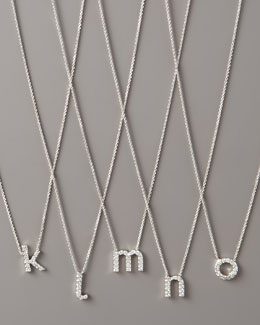 KC Designs Diamond Letter Necklace, K-O