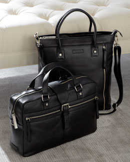 "Bodhi ""Vintage"" Briefcase & Modern Shopper"