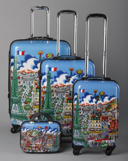 "Heys ""Fazzino"" Paris Luggage Collection"
