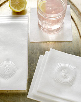 """Hampshire"" Cocktail Napkins & Guest Towels"