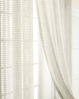 "Softline Home Fashions ""Sandstone,"" ""Sand Dune,"" & ""Sandridge"" Curtain Panels"