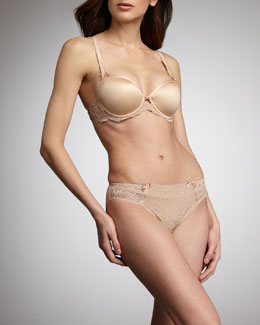 Chantelle St. Germain T-Shirt Bra & Panty, Nude