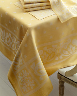 "Pardi ""Bee"" Table Linens"