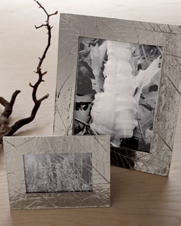 "Michael Aram ""Forest Leaf"" Picture Frames"