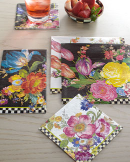 MacKenzie-Childs Flower Market Disposable Napkins & Guest Towels