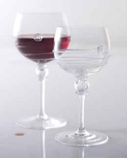"Juliska ""Amalia"" Wine Glasses"