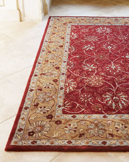 """Ruby Traditional"" Rug"