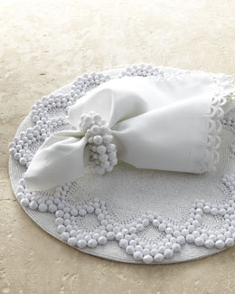 Kim Seybert Beaded Table Linens