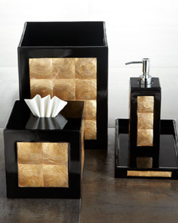 """Ebony"" Vanity Accessories"