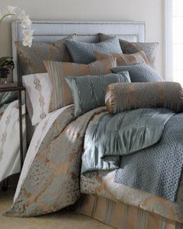 "Fino Lino Linen & Lace ""Tiara"" Bed Linens"
