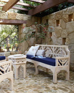 """Quatrefoil"" Outdoor Furniture"