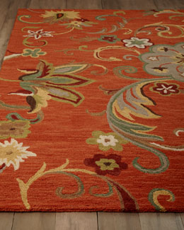 """Meadow Flower"" Rug"