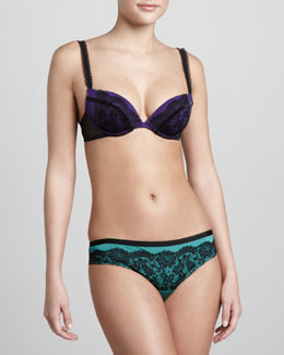 La Perla Party Lace Push-Up Bra & Thong
