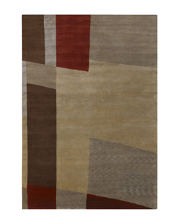 """Mugal Abstract"" Rug"