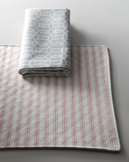 "French Laundry Home ""Yvette"" Placemats & Napkins"