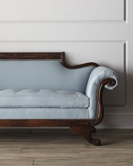 "Old Hickory Tannery ""Ellsworth"" Duncan Sofa"